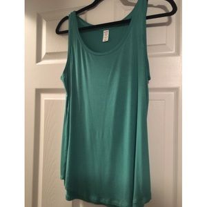Light Teal Old Navy Luxe Tank